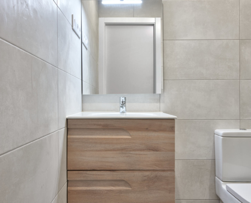 Refrorma de baño pequeño con ducha